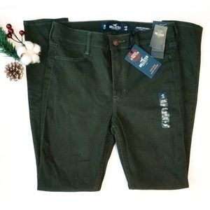 "Army Green "" HOLLISTER JEAN LEGGINGS"" Size 3R"